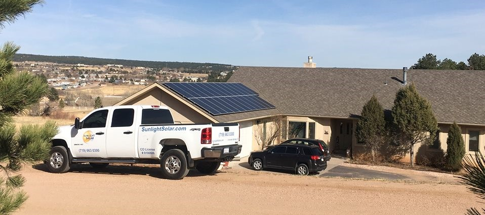9.9 KW Solar Panel Install in Monument CO